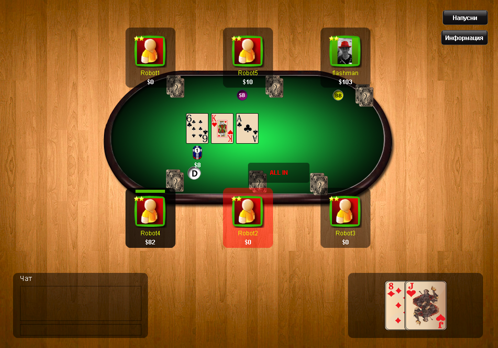 Different ways to win texas holdem
